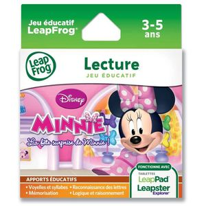 JEU CONSOLE EDUCATIVE MINNIE Explorer Jeu LeapPad LEAPFROG
