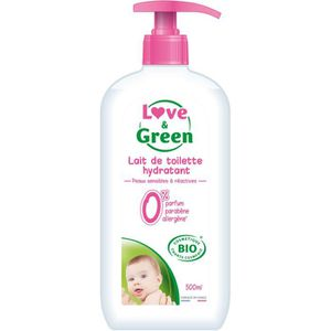 LAIT - LINIMENT LOVE AND GREEN Lait nettoyant Bio - 500 ml
