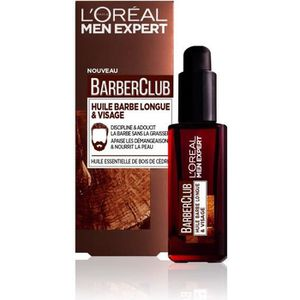 MOUSSE À RASER - GEL MEN EXPERT Huile barbe longue Barberclub - 30 ml -