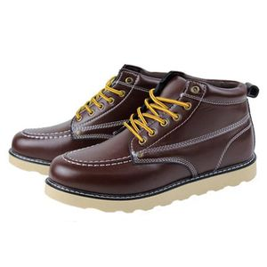 BOTTINE HEE GRAND Homme Junior Chaussure Boots de Cuir ...