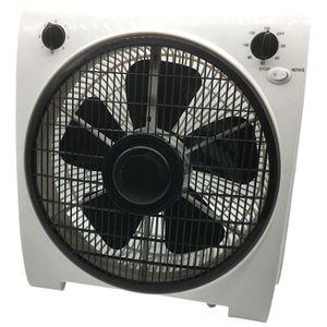 minuterie blanc et gris grille rotative Ardes AR5B24 Ventilateur Box Floor 26 3 vitesses de rotation