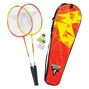 KIT BADMINTON TALBOT TORRO Set de Badminton 2-Fighter - 2 raquet