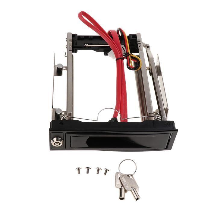 BOITIER PC - PANNEAUX LATERAUX Rack d'extraction de 1 disque dur