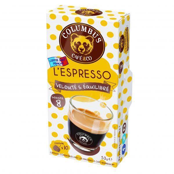 Capsule Nespresso® Compatible Columbus ESPRESSO TU