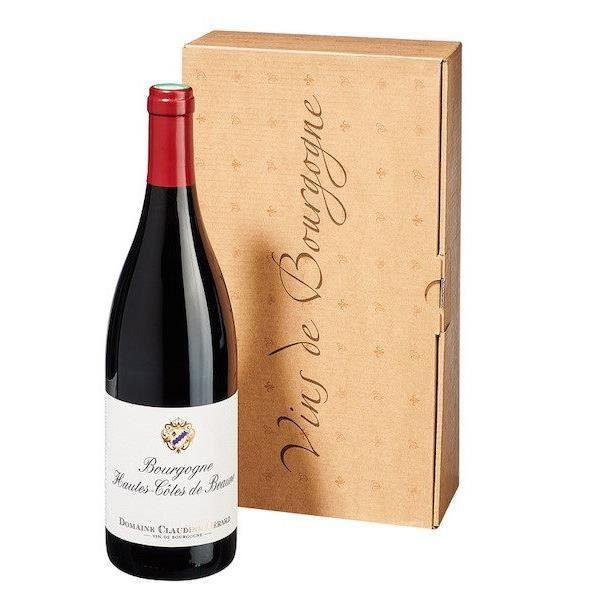 Hautes Côtes de Beaune rouge 2017 Domaine Gérard - 75 cl - Vin Rouge AOP de Bourgogne - Cépage Pinot Noir