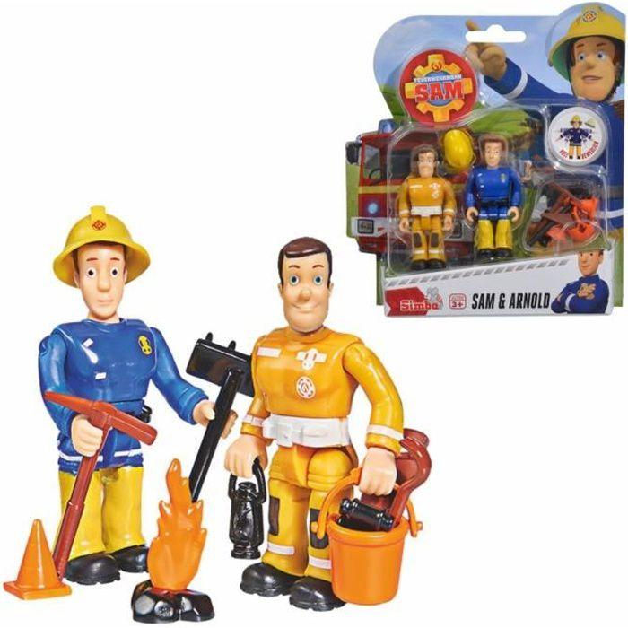 Sam & Arnold - Sam Le Pompier - Ensemble Jouer Chiffres - Simba Toys