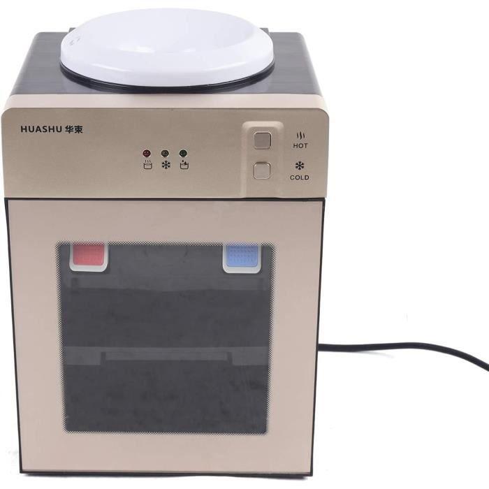 FONTAINE A EAU BONBONNE EAU Distributeur d'eau chaude et froide sur pied - Mini distributeur d'eau - Pour la maison, le bureau, 303