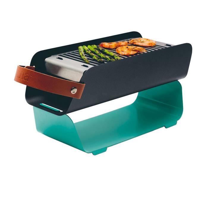 Barbecue portable en métal vert d'eau 16,7000 Vert