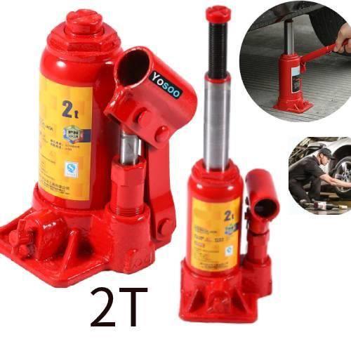 2 Tonne Bouteille Vérin hydraulique Outils de Réparation pour Voiture Camion Bateau Caravane ANN