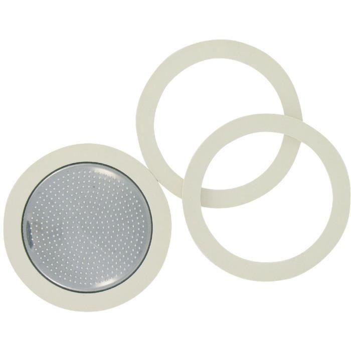 Joint + filtre 6 tasses pour cafetière à pression