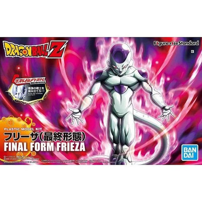 Figurine DRAGON BALL - Final Form Frieza - Model Kit Figure-rise Standard