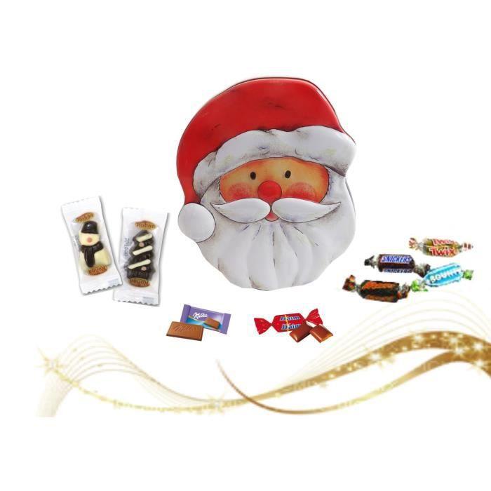 Père Noël garni de 50 chocolats