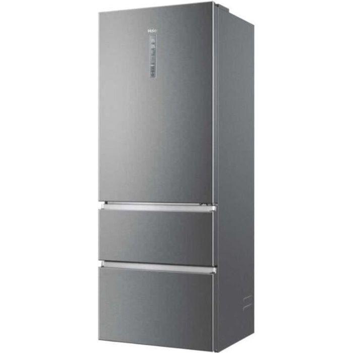 HAIER Réfrigérateur Combiné A3FE743CPJ Platinium
