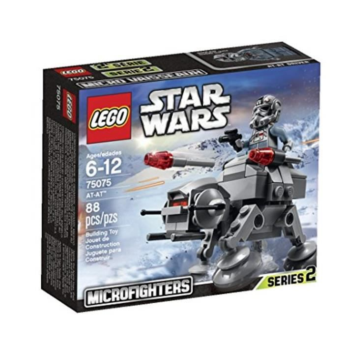 Jeu D'Assemblage LEGO MGEGX Star Wars Microfighters Series 2 AT-AT (75075