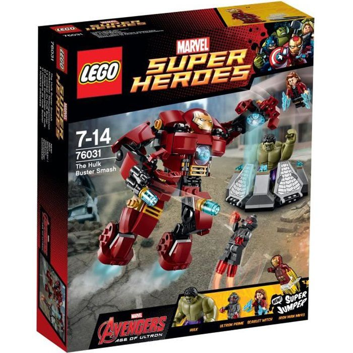 LEGO 76031 Marvel Super Heroes - Le Combat du Hulk Buster