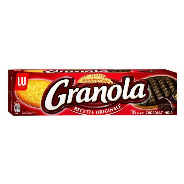 Granola au chocolat noir 195 g Granola