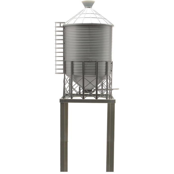 NEW RAY Ferme Silo à Grains - Miniature - 1/32° - 24 cm