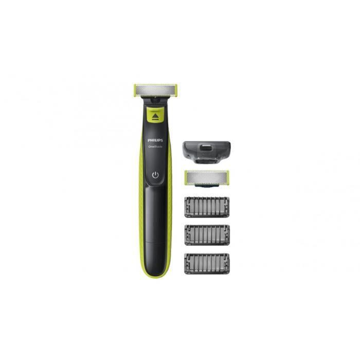 Rasoir Electrique Philips OneBlade QP2520/30 + lame de rechange + 3 sabots barbe