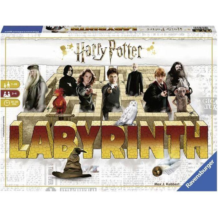 LABYRINTHE Harry Potter - Jeu de société - 2 à 4 joueurs - 7 ans et +