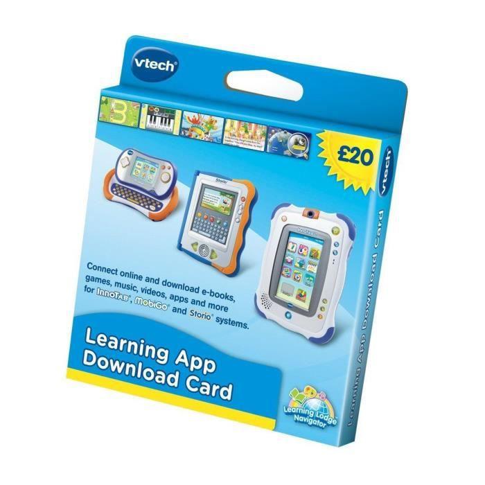 Vtech Learning App Card Télécharger