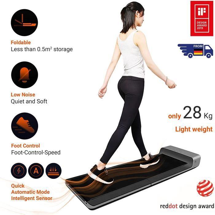 Xiaomi Tapis de course Walking pad A1Pro Roulant - Plat - Motorisé - Pliable