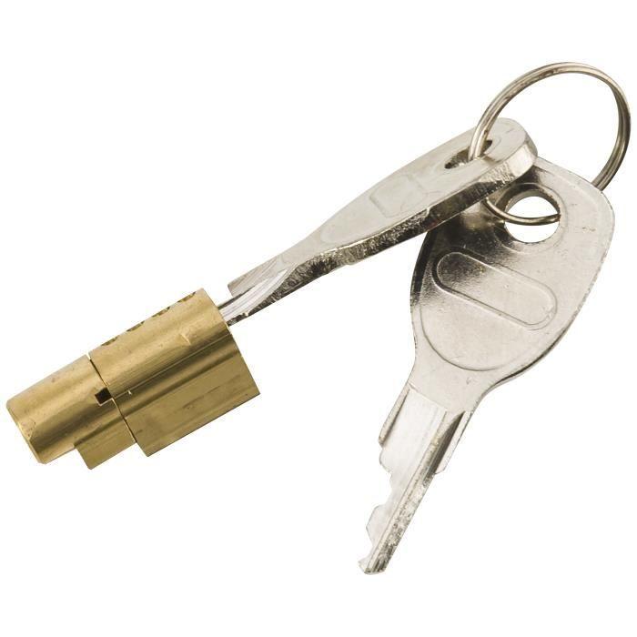 Antivol sécurité pour anneaux d/'attelage remorque pour trous 40 ou 50mm