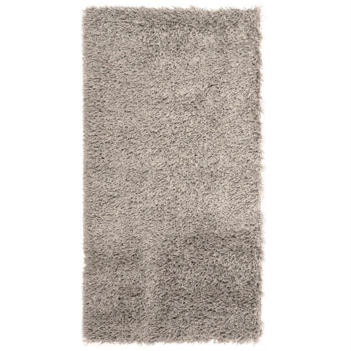 tapis shaggy descente de lit longue m che gris achat vente tapis cdiscount. Black Bedroom Furniture Sets. Home Design Ideas