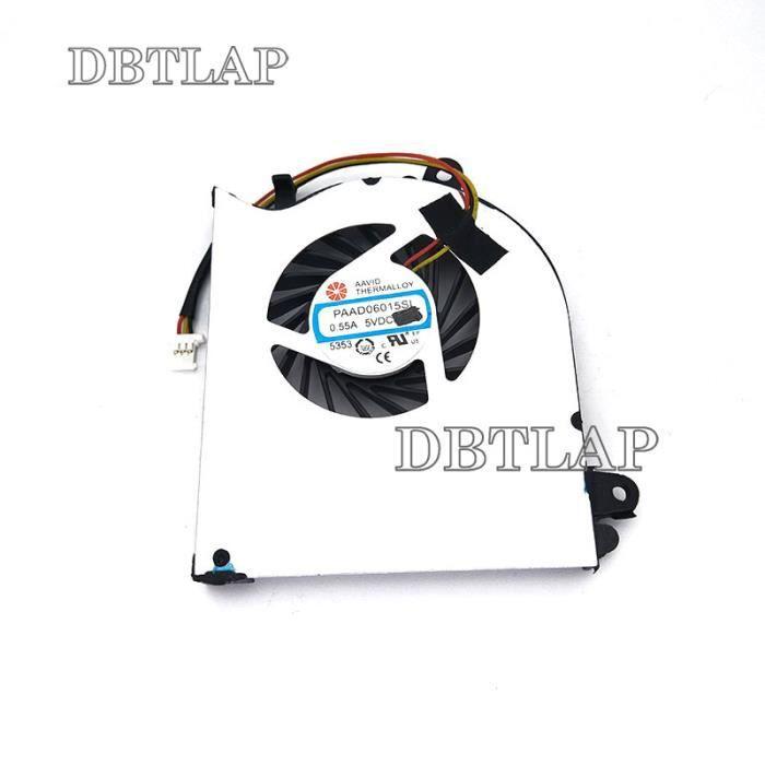 DBTLAP Portable GPU Ventilateur pour MSI GE62VR GL62M GL62VR GP62MVR MS-16JB MS-16J9 Portable GPU Refroidissement Ventilateur PAAD06015SL N371 4PIN