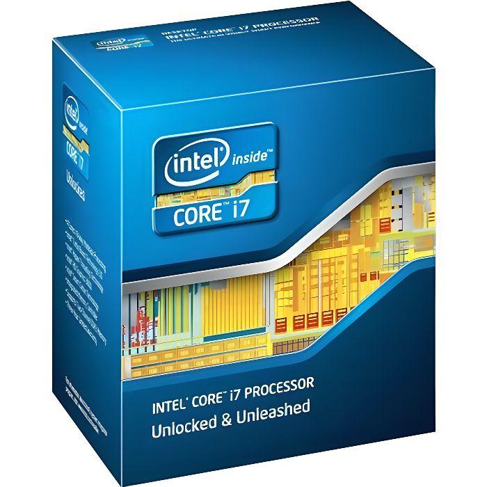PROCESSEUR Processeur CPU Intel Core I7-2600K 3.4Ghz 8Mo 5GT/