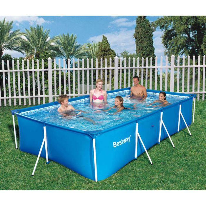 piscine tubulaire rectangulaire family splash 4 achat vente kit piscine piscine tubulaire. Black Bedroom Furniture Sets. Home Design Ideas