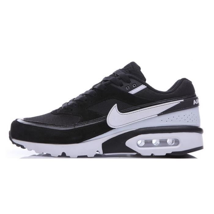 basket nike air max bw premium homme chaussures de running entrainement noir blanc noir noir. Black Bedroom Furniture Sets. Home Design Ideas