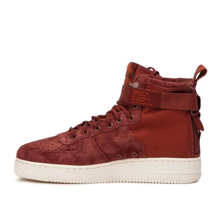 Force Air Mid Vente Rouge Nike 1 Sf Achat Basket qwEa71txX