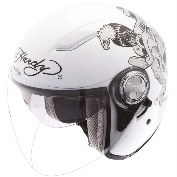 ed hardy casque jet death or glory achat vente casque moto scooter ed hardy casque death or. Black Bedroom Furniture Sets. Home Design Ideas