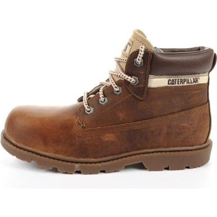 Bottines CATERPILLAR Enfant Cuir Colorado Chaussures Plus klOuZTPXwi
