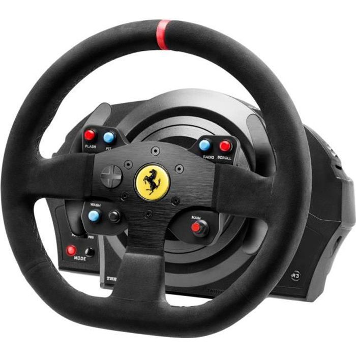 thrustmaster volant t300 ferrari alc ntara edition ps3. Black Bedroom Furniture Sets. Home Design Ideas