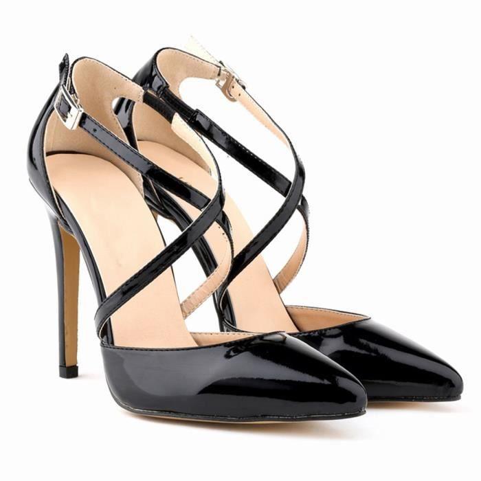 Eastlion - Sangle - Talon aiguille - Chaussures à talon aiguille - Chaussures à talons hauts - Escarpins à talons hauts  Vert 38