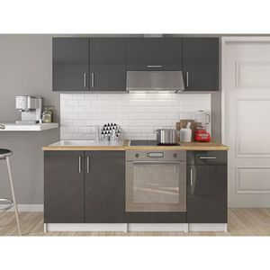 Cuisinette kitchenette achat vente cuisinette for Cuisine complete blanc laque