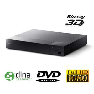 SONY BDP-S4500 Lecteur Blu-Ray DVD Full HD 3D conn