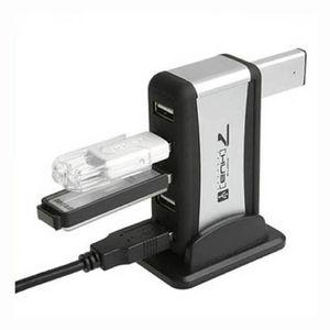CHARGEUR - ADAPTATEUR  7 ports USB 2.0 haute vitesse Powered + câble adap