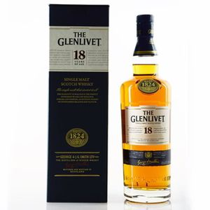 WHISKY BOURBON SCOTCH Spiritueux - Whisky The Glenlivet 18 Ans