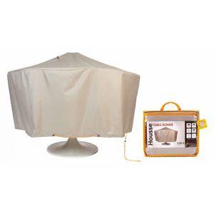 HOUSSE MEUBLE JARDIN  Housse de protection table de jardin ronde 160 cm