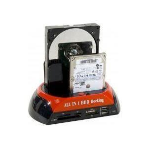 STATION D'ACCUEIL  DOCKING STATION MIXTE SATA-IDE-USB-eSATA+LECTEUR b