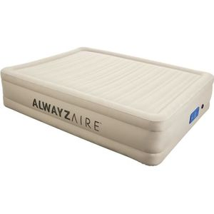 LIT GONFLABLE - AIRBED FORTECH ALWAYZAIRE Matelas gonflable beige 152x203