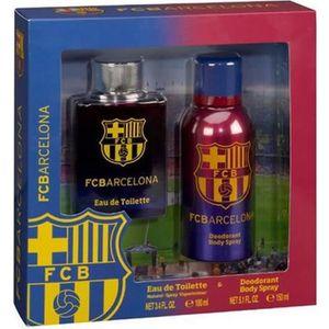 COFFRET CADEAU CORPS Coffret Cadeau Parfum Homme Officiel FC Barcelone
