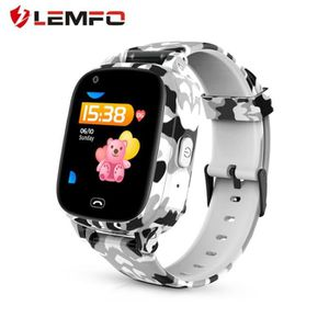 MONTRE CONNECTÉE LEMFO LEC2 Pro 4G Montre Intelligente Enfants GPS