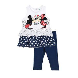 Ensemble de vêtements Ensemble bébé MINNIE tenue d'été legging + tunique