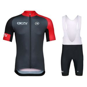 MAILLOT DE CYCLISME GCN Team Training Maillot de Vélo Route Manches Co