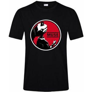 T-SHIRT Vêtement T-Shirt Homme MUSE Power Tee shirt Noir R
