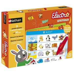 JEU D'APPRENTISSAGE NATHAN Electro Animaux