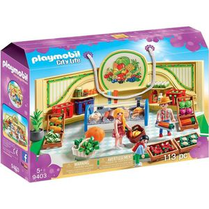 UNIVERS MINIATURE PLAYMOBIL 9403 - City Life - Epicerie